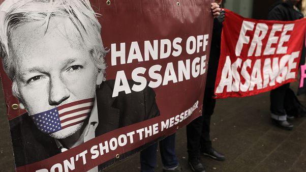 Comienza el proceso de extradición a Estados Unidos de Julian Assange