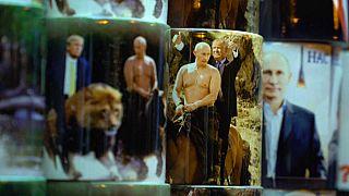 20 ans après son arrivée au pouvoir le portrait de Vladimir Poutine est partout