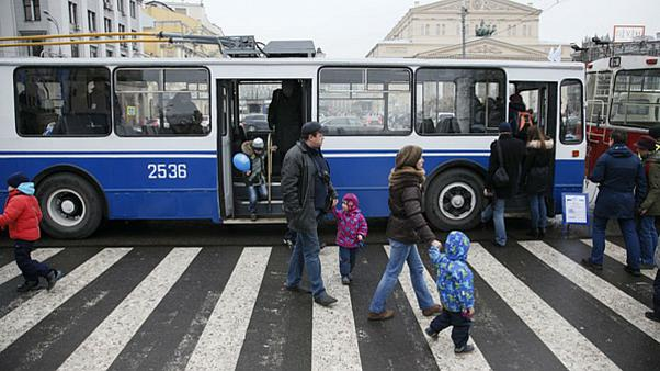 Coronavirus: Moscow transport drivers told to raise alarm if they see Chinese people on board