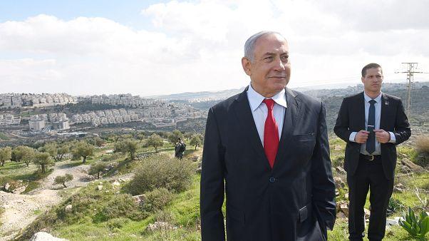 رئيس الوزراء الإسرائيلي بنيامين نتنتياهو