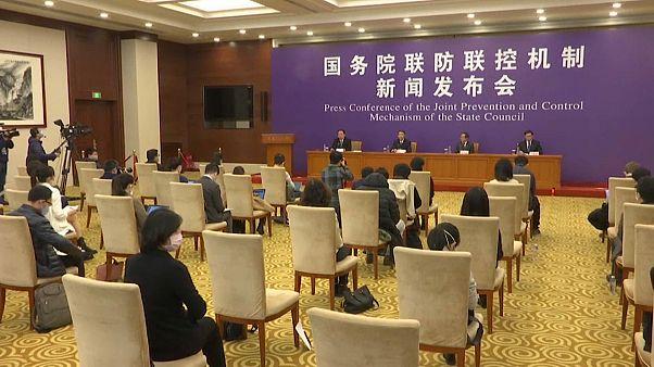 Coronavírus regista o menor aumento de casos na China em quase um mês