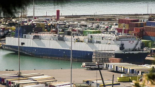 Türkiye'den Libya'ya silah taşıdığı iddia edilen 'Bana' kargo gemisi