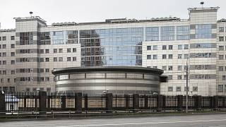 The building of the Main Directorate of the General Staff of the Armed Forces of Russia, also know as Russian military intelligence service in Moscow, Russia.
