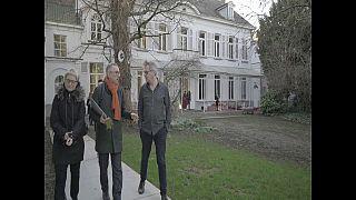 Nella foto: Luca Ricci (Kilowatt) con Kristof Jonckheere (BUDA, Kortrijk)