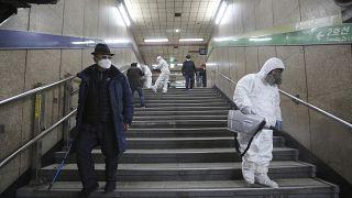 Alerta por coronavirus en Corea del Sur con 100 nuevos casos