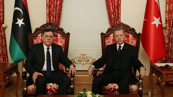Τουρκία-Λιβύη: Συνάντηση Ερντογάν – Σάρατζ στην Κωνσταντινούπολη