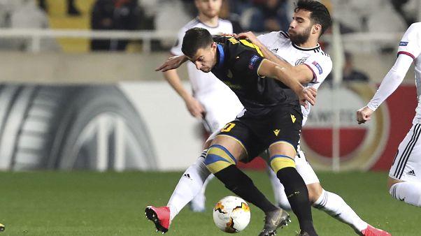 Europa League: Βαριά ήττα για τον ΑΠΟΕΛ