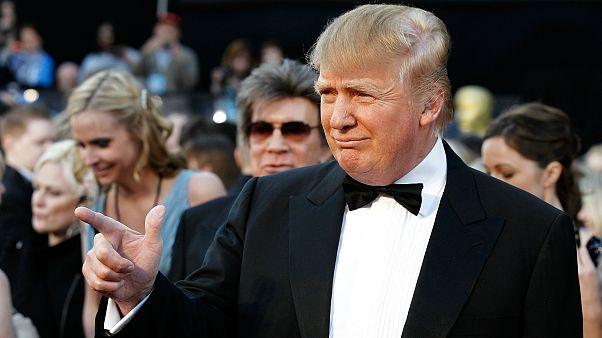 دونالد ترامپ در مراسم اسکار سال ۲۰۱۱
