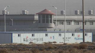 Prisión en la región china de Xinjiang (archivo)