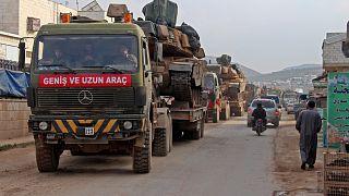 TSK konvoyu İdlib'de