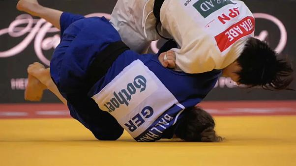 Irmãos Abe brilham na jornada inaugural do Grand Slam de Judo de Düsseldorf
