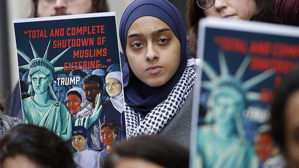 حظر سفر المسلمين إلى الولايات المتحدة