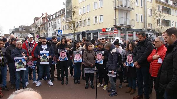 Demonstration against racism takes place following deadly attack