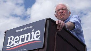 المرشح الديمقراطي للانتخابات التمهدية بيرني ساندرز