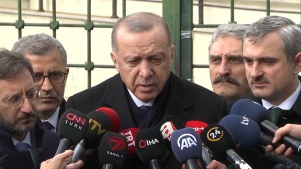 Crise d'Idleb en Syrie : Erdogan annonce un sommet avec les dirigeants russe, français et allemand