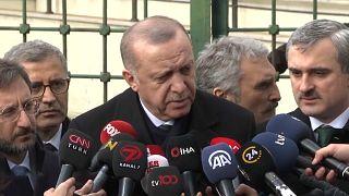 Erdoğan confirma cimeira a quatro para resolver crise síria