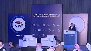اجتماع لقادة المالية لدى مجموعة 20 في الرياض. 2020/02/21