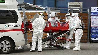 Coreia do Sul regista subida dramática de casos de infeção