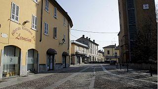 Codogno parece uma cidade-fantasma devido ao novo coronavírus