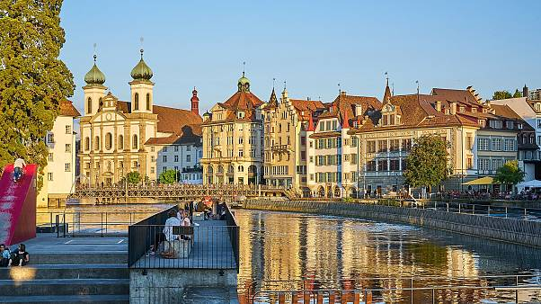 İsviçre'nin Luzern kenti