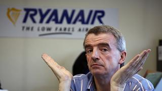 Ryanair CEO Michael O'Leary talks to the Globe and Mail at his headquarters at Dublin Airport, Ireland, Thursday, Nov. 20, 2008.