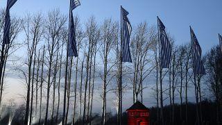 معسكر أوشفيتز النازي في بولندا، الاثنين 27 يناير 2020