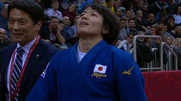 الحظ يبتسم لليابان مجددا في اليوم الثاني من بطولة الجودو غراند سلام دوسلدورف 2020