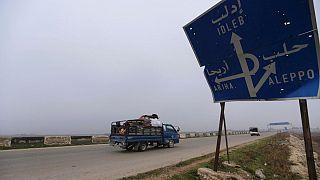 بزرگراه ۴۵۰ کیلومتری دمشق-حلب پس از ۸ سال بار دیگر باز شد