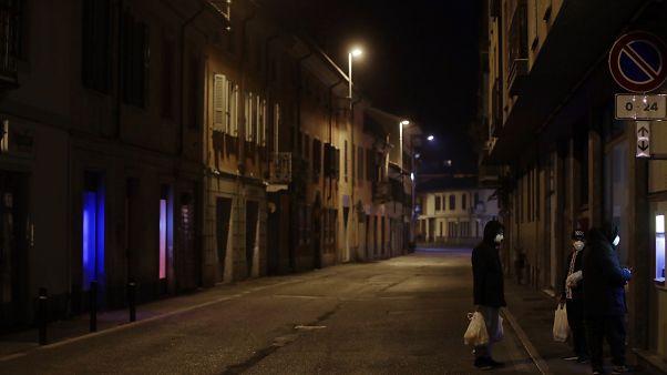 Coronavirus: 129 Infizierte in Italien, 50.000 in abgeriegelten Orten