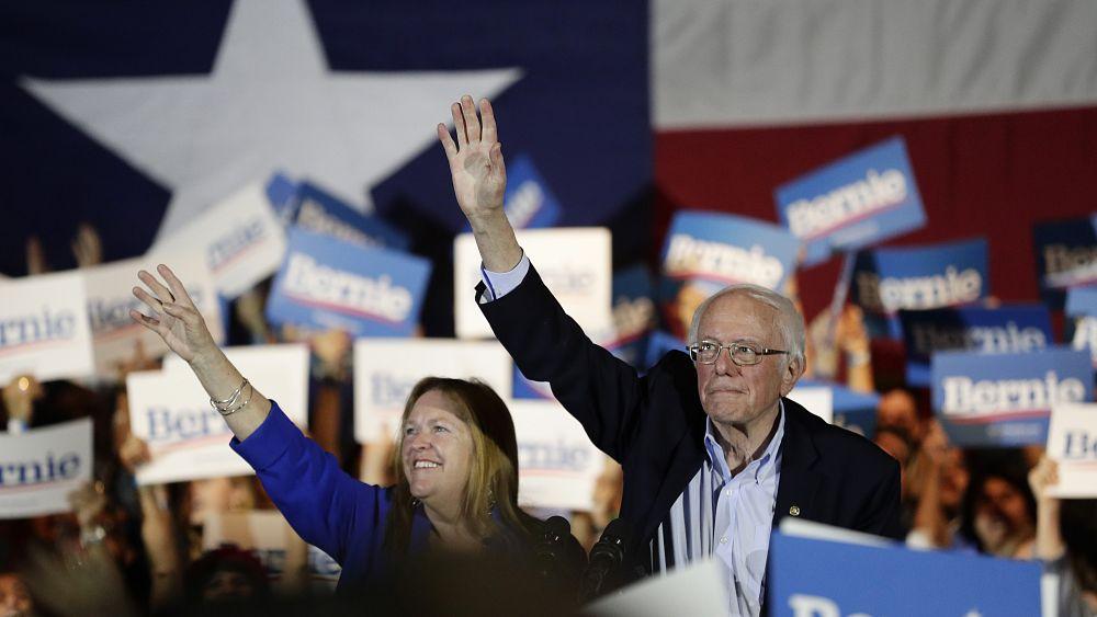 US: Bernie Sanders widens lead in Democratic caucus...