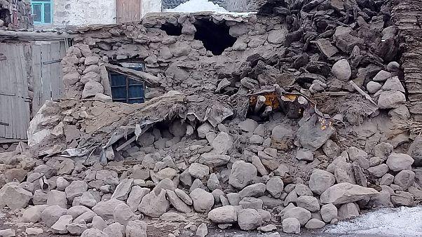 Разрушения в турецкой провинции Ван