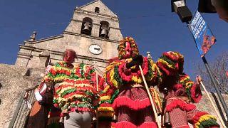 Caretos atraem milhares de turistas para o Carnaval de Podence