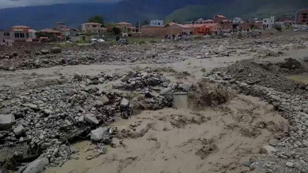 Bolivia: el triste 'déjà vu' de los habitantes de Tiquipaya