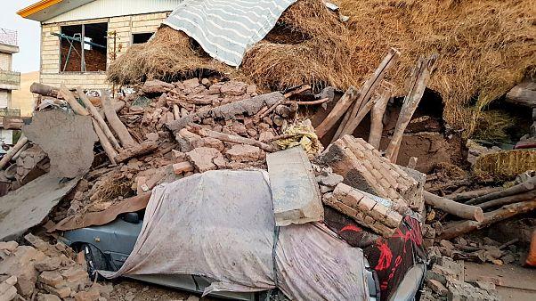 İran'ın Türkiye sınırında yeni bir deprem meydana geldi