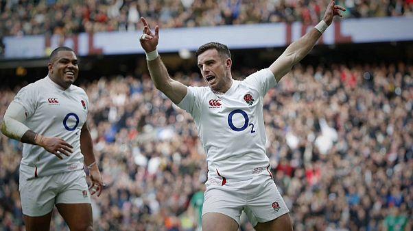 بطولة الأمم الستة لرياضة الرغبي: إنجلترا تتألق وتطيح بآمال أيرلندا