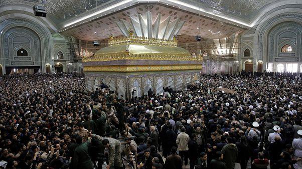 Eski İran Cumhurbaşkanı Ali Ekber Haşimi Rafsancani'nin cenaze töreni