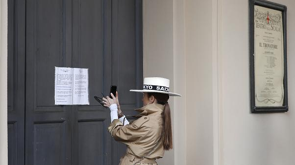 إغلاق متحف لا سكالا العريق في ميلانو بسبب فيروس كورونا 23 فبراير 2020