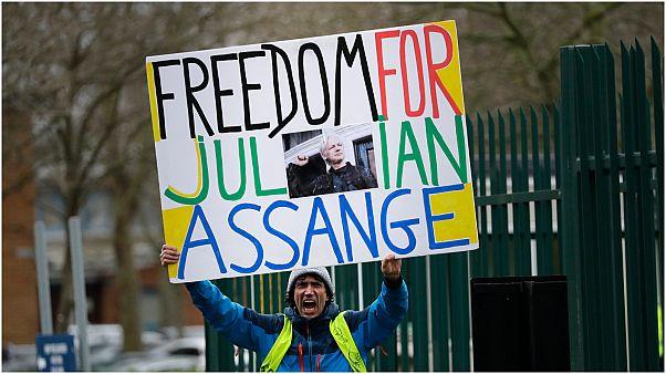 محكمة بريطانية تنظر في طلب تسليم مؤسس ويكيليكس إلى الولايات المتحدة
