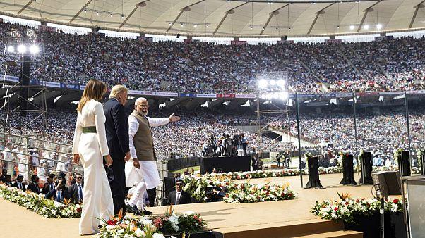 سفر ترامپ به هند؛ از حضور در منزل گاندی تا گردهمایی ۱۱۰ هزار نفری