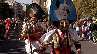 Europa mascara-se para o Carnaval