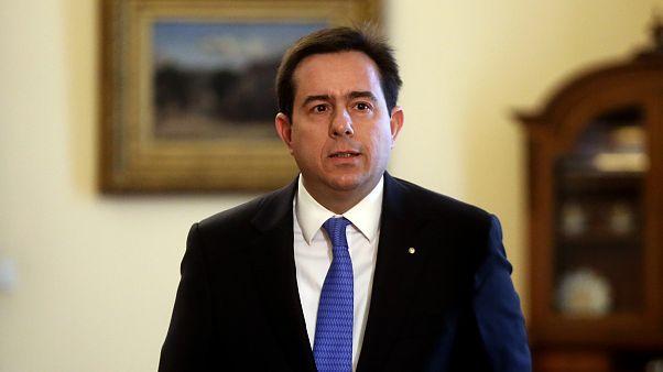Ο Παναγιώτης Μηταράκης στο Προεδρικό Μέγαρο