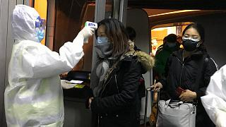 Video | Çin güvenlik güçlerinden koronavirüs tatbikatı