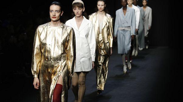 Semana de la moda de Milán, 23 de febrero de 2020.