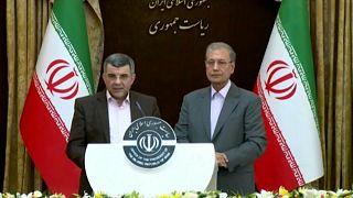 Iraj Harirchi, portavoz del ministro iraní de Salud, anuncia el balance oficial de víctimas del COVID-19