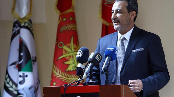 وزير الدفاع السابق في حكومة الوفاق الوطني الليبية المهدي البرغثي