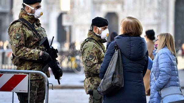 Küszködnek az olasz hatóságok a koronavírus megfékezésével