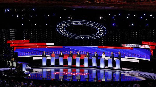 Von links bis schwerreich: Diese Demokraten wollen Trump herausfordern