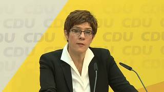 Kramp-Karrenbauer-Nachfolge: Entscheidung am 25. April