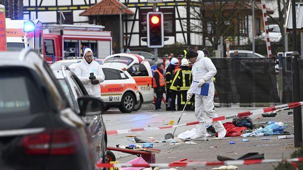 Al menos 30 heridos por un atropello en un desfile de carnaval en Alemania