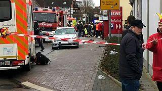 The scene in Volkmarsen